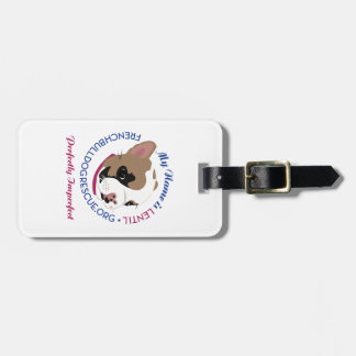 Lentil, Perfectly Imperfect Luggage Tag