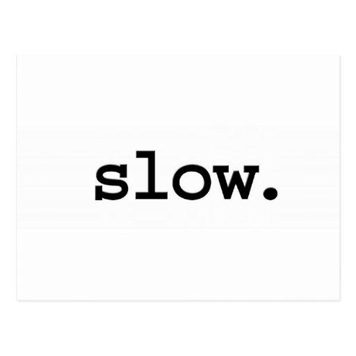 lento postales