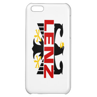Lenz Surname Case For iPhone 5C
