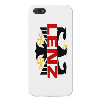 Lenz Surname Case For iPhone 5