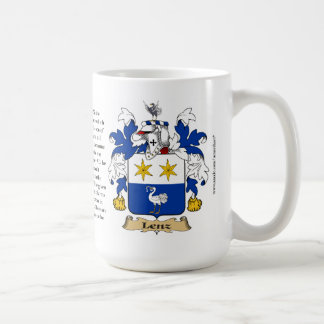 Lenz, the Origin, the Meaning and the Crest Mugs