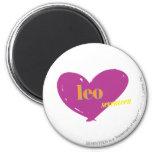 Leo 2 refrigerator magnet