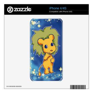 Leo 2 iPhone 4S decal
