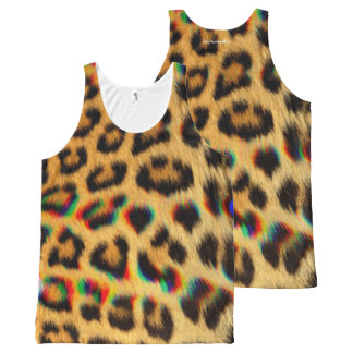 Leo All-Over Print Tank Top