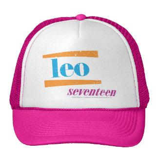 Leo Aqua Trucker Hat