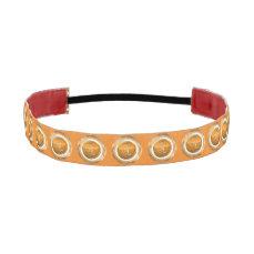 Leo Astrological Sign Athletic Headband