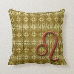 LEO Astrology Design Throw Pillow