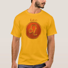 Leo Astrology Symbol T-Shirt