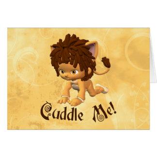 Leo Baby Card