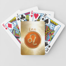 Leo Bicycle Playing Cards