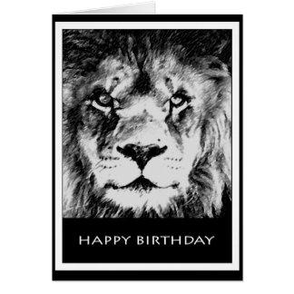 Leo Birthday Card II