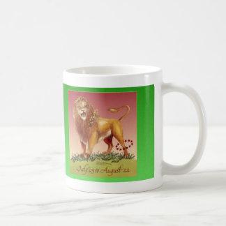 Leo Birthday Mug