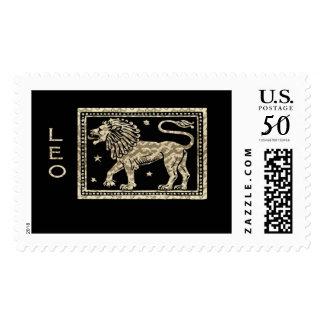 Leo Birthday Stamp