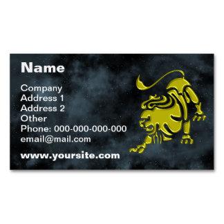 Leo Business Card Magnet