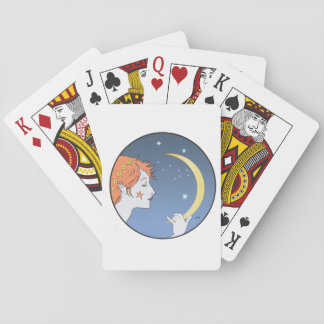 Leo by moonlight playing cards