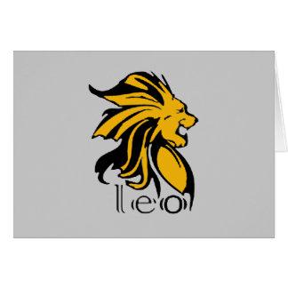Leo Card