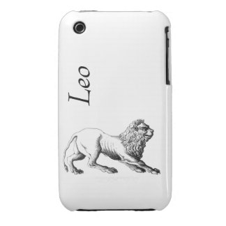 Leo Case Mate with Text iPhone 3 Cases