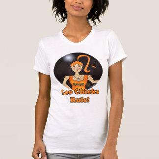 Leo Chicks Rule T-Shirt