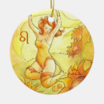 Leo Christmas Tree Ornaments