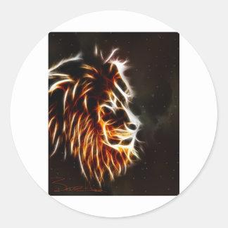 Leo Classic Round Sticker
