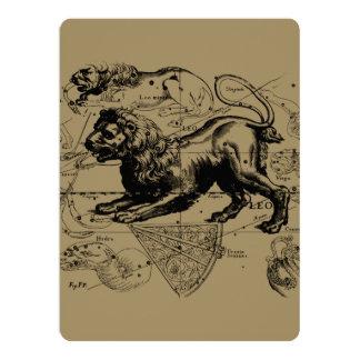 Leo Constellation Hevelius 1690 July23 - August 22 Card