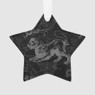 Leo Constellation Hevelius 1690 July23 - August 22 Ornament