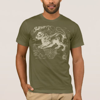 Leo Constellation Hevelius 1690 July23 - August 22 T-Shirt