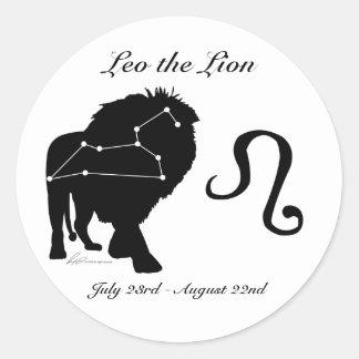 Leo Constellation/Zodiac Stickers