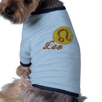 Leo Dog Tee Shirt
