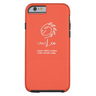 Leo el tango de la mandarina de la muestra del funda para iPhone 6 tough