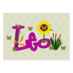 Leo Flowers Business Cards