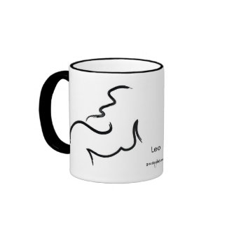 'Leo' Gaudesse Zodiac Mug