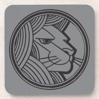Leo Grey Coaster