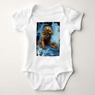 Leo horoscope chinese lion baby bodysuit