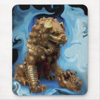 Leo horoscope chinese lion mouse pad