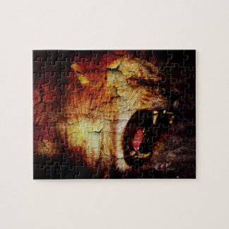 Leo horoscope safari wild Animal African Lion Jigsaw Puzzle