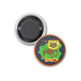 Leo Horoscope Sign Lion Symbol Astrology Magnet