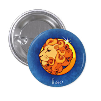 Leo Horoscope Sign Lion Symbol Astrology Pin