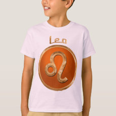 Leo Horoscope Symbol T-Shirt