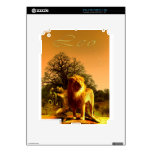 Leo.jpg Calcomanía Para El iPad 2