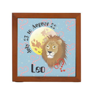 Leo July 23 to August 22 Desk Organizers