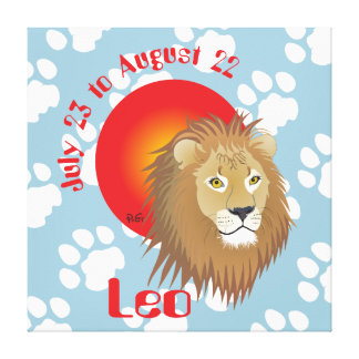 Leo July 23 tons of August 22 Canvas