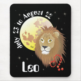 Leo July 23 tons of August 22 Mouse PAD
