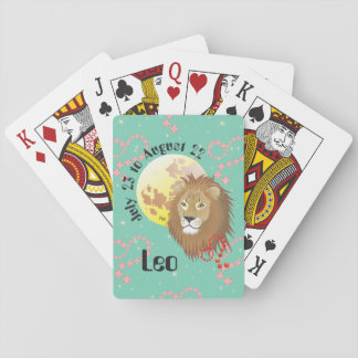Leo July 23 tons of August 22 playing cards