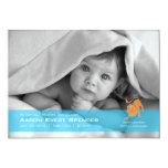 Leo la tarjeta de la invitación del nacimiento de invitación 12,7 x 17,8 cm