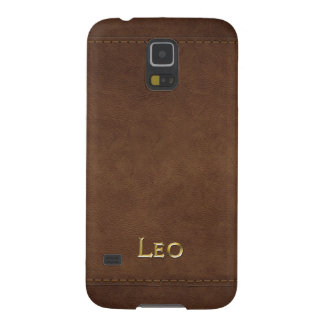 LEO Leather-look Customised Phone Case