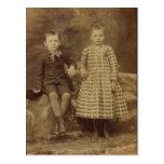 Leo & Lena LAHR Post Card
