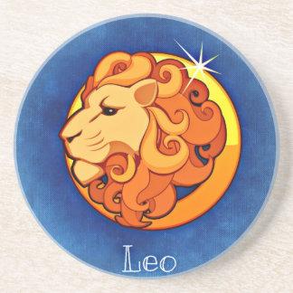 Leo, Leone Drink Coaster