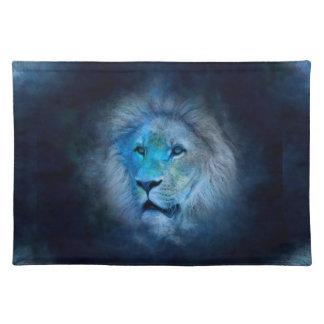 leo lion placemat