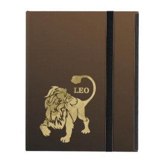 Leo Lion Zodiac iPad Case